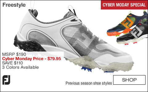 FJ Freestyle Golf Shoes - CLOSEOUTS - CYBER MONDAY SPECIAL