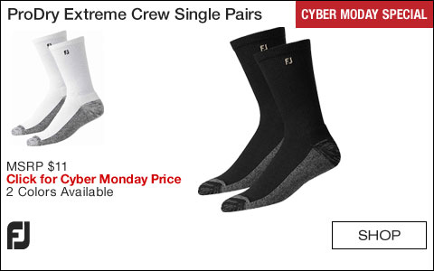 FJ ProDry Extreme Crew Socks Single Pairs - CYBER MONDAY SPECIAL