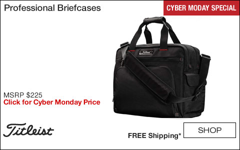Titleist Professional Golf Briefcases - CYBER MONDAY SPECIAL