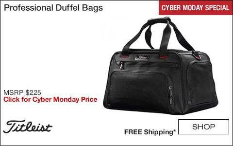 Titleist Professional Golf Duffel Bags - CYBER MONDAY SPECIAL