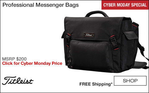 Titleist Professional Golf Messenger Bags - CYBER MONDAY SPECIAL