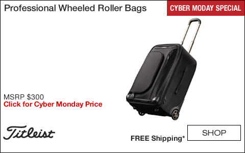 Titleist Professional Wheeled Roller Bags - CYBER MONDAY SPECIAL