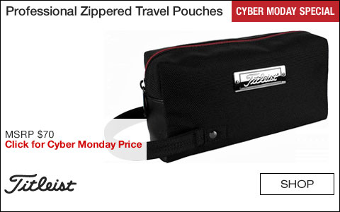 Titleist Professional Zippered Travel Pouches - CYBER MONDAY SPECIAL