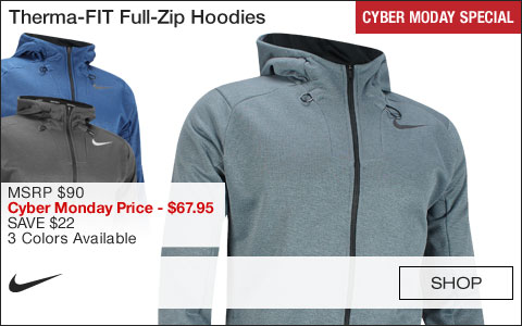 Nike Therma-FIT Full-Zip Golf Hoodies - CYBER MONDAY SPECIAL