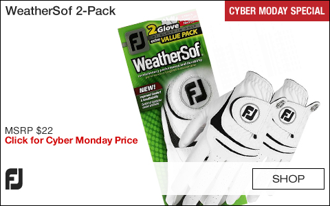 FJ WeatherSof 2-Pack Golf Gloves - CYBER MONDAY SPECIAL