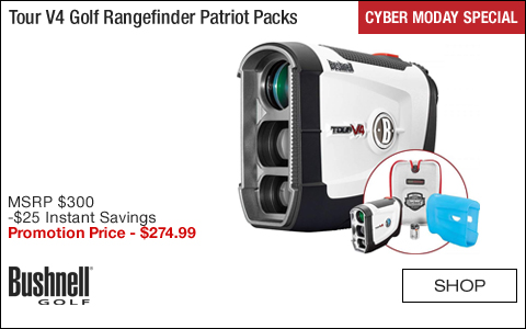 Bushnell Tour V4 Golf Rangefinder Patriot Packs - CYBER MONDAY SPECIAL