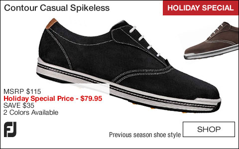 FJ Contour Casual Spikeless Golf Shoes - HOLIDAY SPECIAL