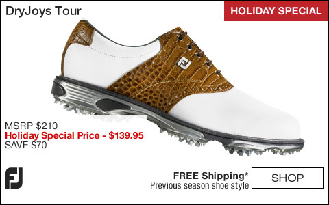 FJ DryJoys Tour Golf Shoes - HOLIDAY SPECIAL