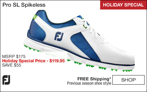 FJ Pro SL Spikeless Golf Shoes - HOLIDAY SPECIAL