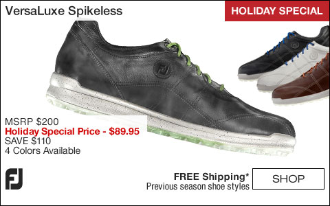 FJ VersaLuxe Spikeless Golf Shoes - HOLIDAY SPECIAL