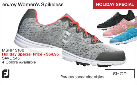 FJ enJoy Women's Spikeless Golf Shoes - CLOSEOUTS - HOLIDAY SPECIAL