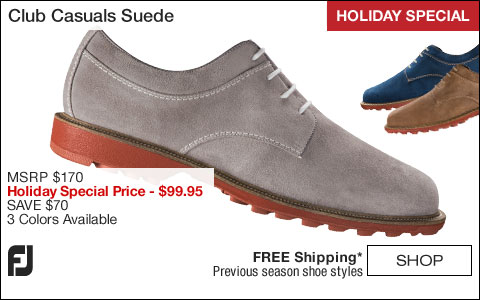 FJ Club Casuals Suede Shoes - HOLIDAY SPECIAL