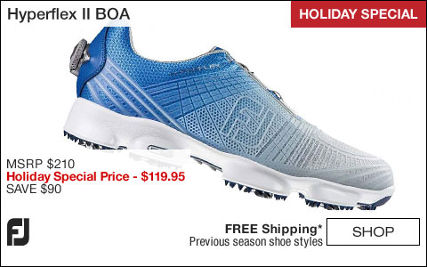 FJ Hyperflex II Golf Shoes with BOA Lacing System - HOLIDAY SPECIAL