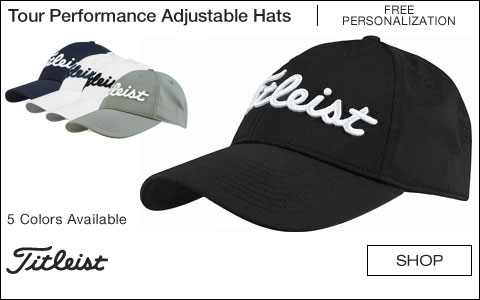 Titleist Tour Performance Adjustable Custom Golf Hats - Free Personalization