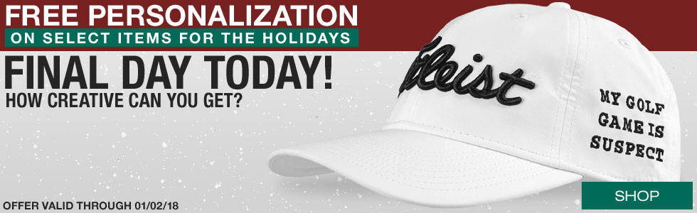 Final Two Days for Free Personalization