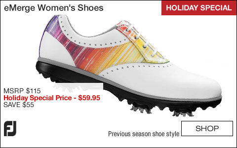 FJ eMerge Women's Golf Shoes - CLOSEOUTS - HOLIDAY SPECIAL