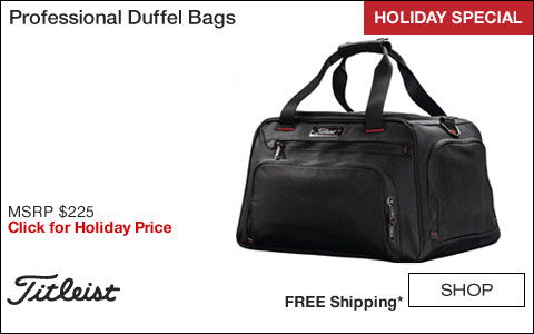 Titleist Professional Golf Duffel Bags - HOLIDAY SPECIAL