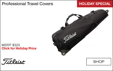 Titleist Professional Golf Travel Covers - HOLIDAY SPECIAL