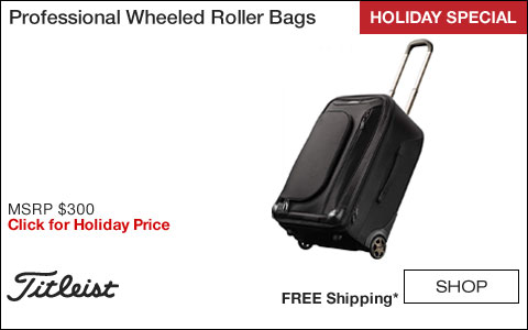 Titleist Professional Wheeled Roller Bags - HOLIDAY SPECIAL