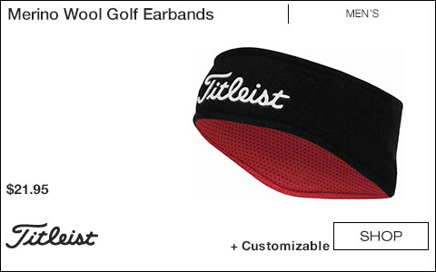 Titleist Merino Wool Golf Earbands