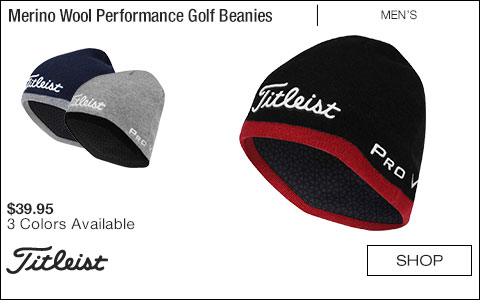 Titleist Merino Wool Performance Golf Beanies