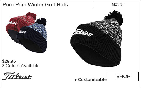 Titleist Pom Pom Winter Golf Hats