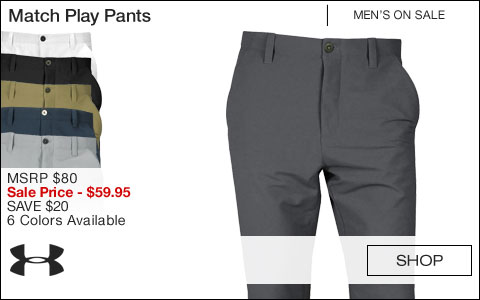 Under Armour Match Play Golf Pants - ON SALE
