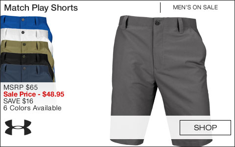 Under Armour Match Play Golf Shorts - ON SALE