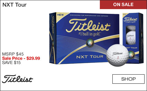 Titleist NXT Tour Golf Balls - ON SALE