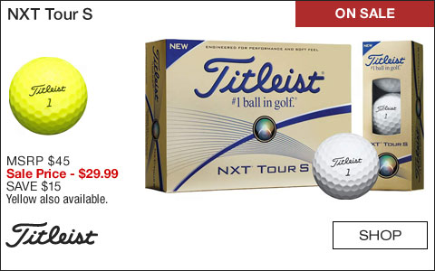 Titleist NXT Tour S Golf Balls - ON SALE