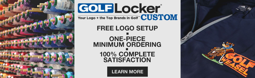 Learn More About Our Golf Locker Custom Embroidery Service