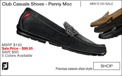 FJ Club Casuals Shoes - Penny Moc - ON SALE