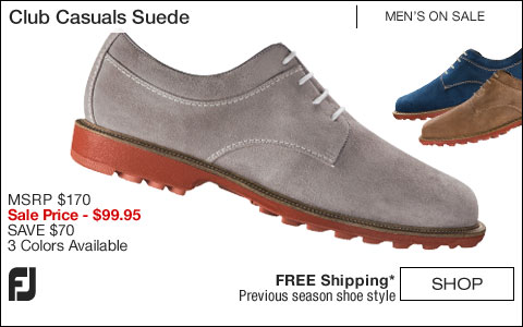 FJ Club Casuals Suede Shoes