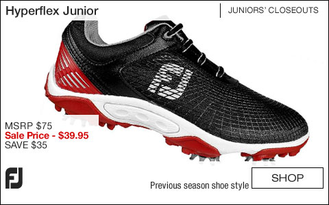 FJ Hyperflex Junior Golf Shoes