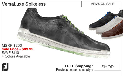 FJ VersaLuxe Spikeless Golf Shoes