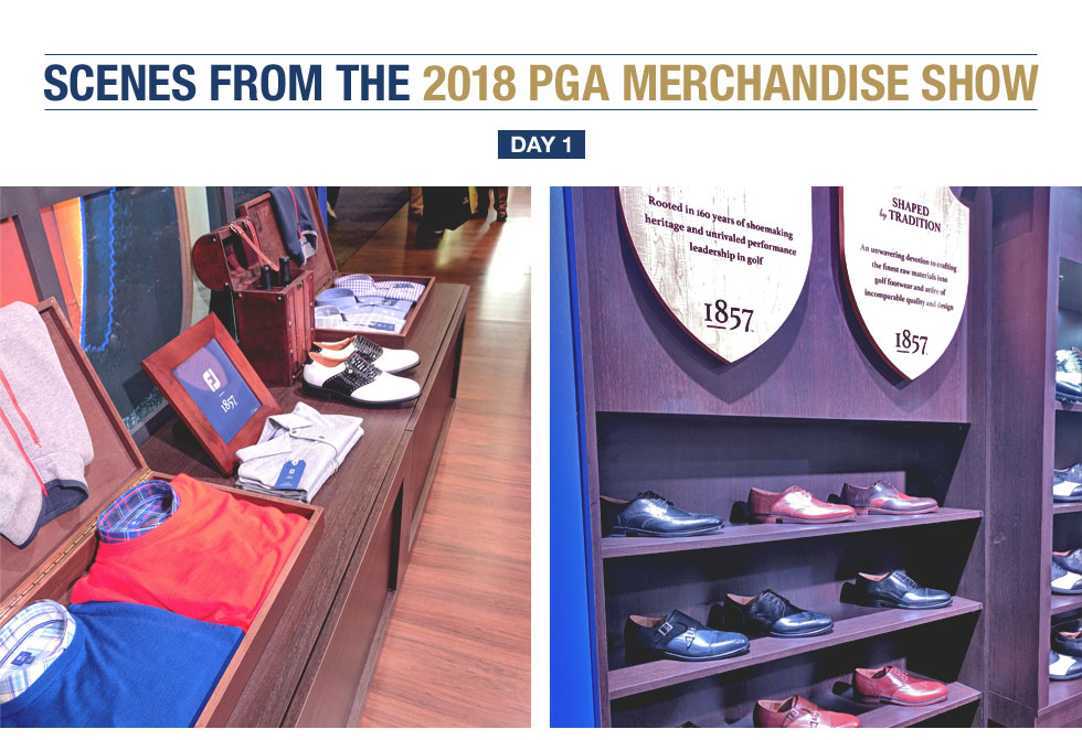 Scenes from Day 1 of the 2018 PGA Merchandise Show