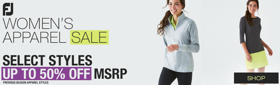 FJ Women's Apparel Sale