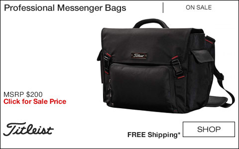 Titleist Professional Golf Messenger Bags - HOLIDAY SPECIAL