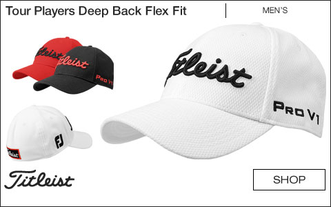 ... online retailer bc47f 6ca85 Titleist Tour Players Deep Back Flex Fit  Golf Hats ... 70558dfecabf