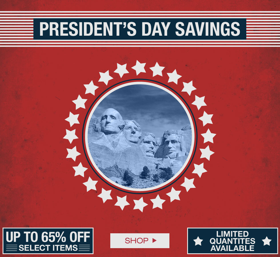 President's Day Savings at Golf Locker