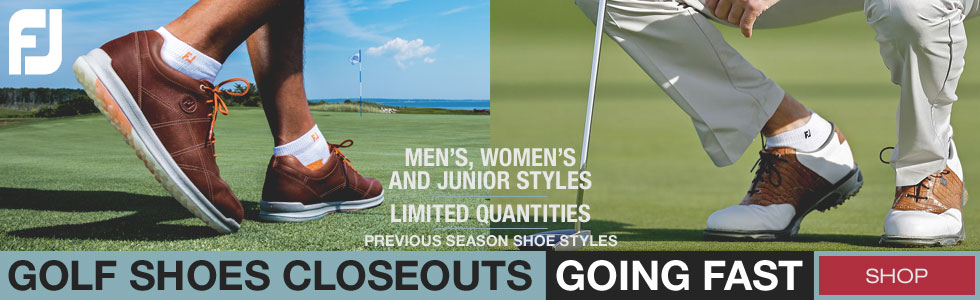 FJ Golf Shoes Closeouts Shipment Has Arrived