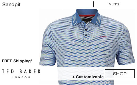 Ted Baker London Sandpit Golf Shirts - Free Shipping