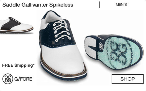 G/Fore Saddle Gallivanter Spikeless Golf Shoes