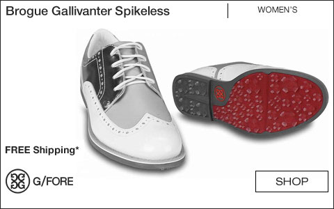 G/Fore Women's Brogue Gallivanter Spikeless Golf Shoes