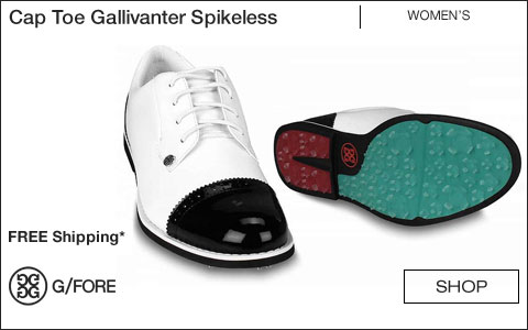 G/Fore Women's Cap Toe Gallivanter Spikeless Golf Shoes