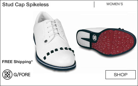 G/Fore Women's Stud Cap Spikeless Golf Shoes