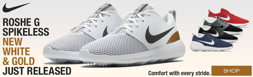 Nike Roshe G Spikeless Golf Shoes - New Color Just Added