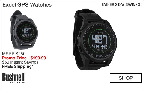 Bushnell Excel GPS Golf Watches