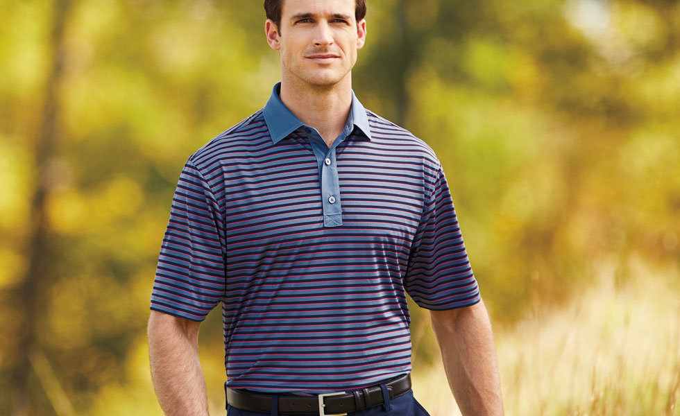 Refresh your polo selection for the new season at Golf Locker