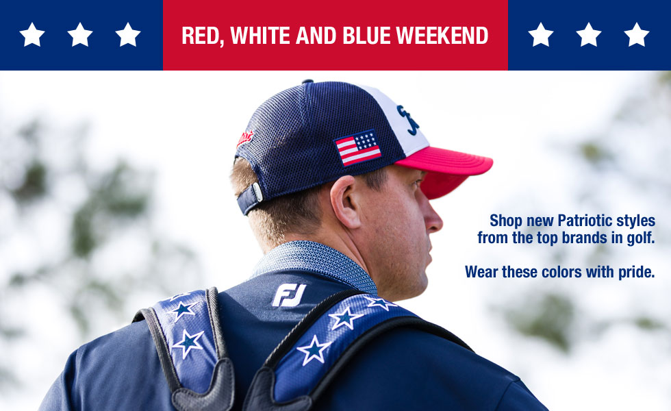 Red, White and Blue Weekend at Golf Locker